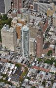 Construction Progress Aerial Photographs - 1706 Rittenhouse Square Street Philadelphia PA 19103 by Duncan Pearson