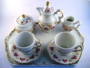 Baby Ceramics - 1709 Childrens Tea Set by Wilma Manhardt