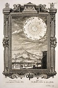 Sacred Artwork Framed Prints - 1731 Johann Scheuchzer Astronomy Orbits Framed Print by Paul D Stewart