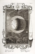 Sacred Artwork Framed Prints - 1731 Johann Scheuchzer Creation 4th Day Framed Print by Paul D Stewart