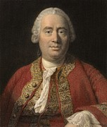 Human Nature Metal Prints - 1766 David Hume Philosopher Of Science Metal Print by Paul D Stewart