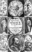 Magick Prints - 17th Century Science Publication Print by Library Of Congress