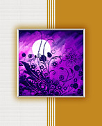 Full Moon Digital Art Originals - Abstract by Rajesh Kansara