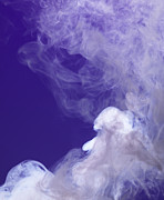 Colored Smoke Posters - Colored Smoke Poster by Henrik Sorensen