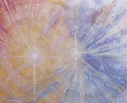 Science Fiction Art Originals - Cosmic Light Series by Len Sodenkamp