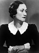 Duchess Of Windsor Wallis Simpson Print by Everett