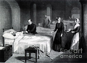 Philanthropist Framed Prints - Florence Nightingale, English Nurse Framed Print by Science Source
