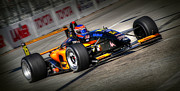 Indy Car Art - Lbgp by Craig Incardone