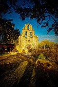 Mission Framed Prints - Mission Espada Framed Print by Iris Greenwell