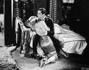 Chaise Framed Prints - Silent Film Still: Couples Framed Print by Granger
