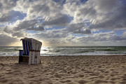 Beach Chairs Prints - Sylt Print by Joana Kruse
