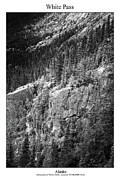 Signed Photo Prints - White Pass Print by William Jones