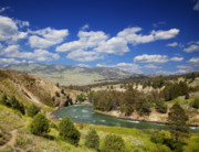 Spring Scenery Originals - Yellowstone National Park by Mark Smith