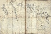 Louisiana Purchase Framed Prints - 1803 Lewis And Clark Map Framed Print by Everett