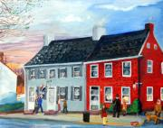 Md Originals - 1812 House Tomorrow Antiques by Gloria Condon