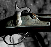 Guns Photos - 1861 Springfield Rifle  by Steven  Digman