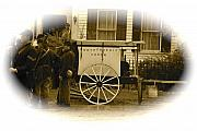 Horse And Cart Mixed Media Metal Prints - 1863 Cival War Camera Metal Print by Robert Pearson