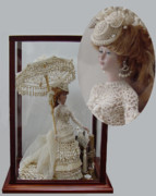 Fashion Ceramics - 1883 Seaside Lady by Shirley Heyn