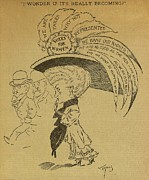 Social Movements Art - 1891 American Political Cartoon by Everett