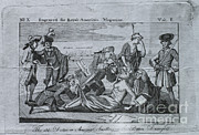 Political Cartoon Framed Prints - 18th Century Political Satire Framed Print by Omikron