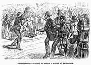 Arrest Prints - Great Railroad Strike, 1877 Print by Granger