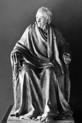 Portrait Sculpture Photograph Prints - Voltaire (1694-1778) Print by Granger