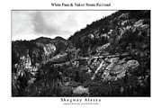 Signed Photo Posters - White Pass and Yukon Route Railroad Poster by William Jones