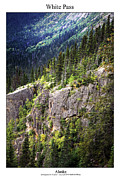 Signed Photo Posters - White Pass Poster by William Jones