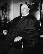 Chief Justice Framed Prints - William Howard Taft Framed Print by Granger