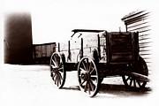 1900 Wagon Print by Marcin and Dawid Witukiewicz