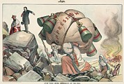 Great Migration Prints - 1904 Cartoon Depicting President Print by Everett