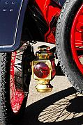 Model T - 1911 Ford Model T Torpedo Lamp by Jill Reger