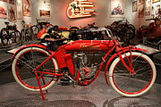 Harley Davidson Photos - 1912 Indian Motorcycle - The Early Years - 7D17258 by Wingsdomain Art and Photography
