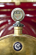 Radiator Cap Photos - 1913 Chalmers Model 18 Jordan Motometer by Jill Reger