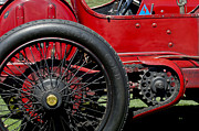 1913 Art - 1913 Isotta Fraschini Tipo IM Wheel by Jill Reger