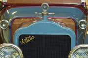 Motor Meter Photos - 1913 White Gentlemanss Roadster Grille by Jill Reger