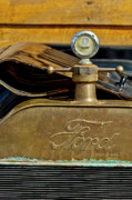 Hoodies Photos - 1915 Ford Depot Hack Hood Ornament  by Jill Reger