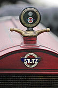 Moto Meter Prints - 1916 Stutz Series B Bearcat Hood Ornament Print by Jill Reger