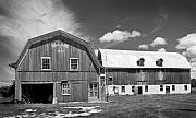 Stephen Mack Acrylic Prints - 1917 Barn -Clarks Lake Rd. Acrylic Print by Stephen Mack