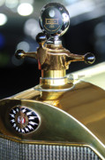 Motor Meter Photos - 1917 Owen Magnetic M-25 Hood Ornament by Jill Reger
