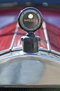 Pierce-arrow Photo Prints - 1919 Pierce-Arrow Model 48 Dual Valve Roadster Hood Ornament Print by Jill Reger