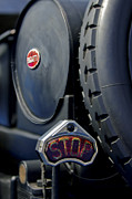Bugatti Vintage Car Photos - 1920 Bugatti Type 13 Taillight by Jill Reger
