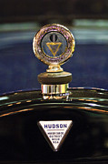 Moto Meter Prints - 1920 Hudson Super 6 Touring Hood Ornament Print by Jill Reger
