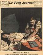 Unconscious Prints - 1921 Blood Transfusion.  An Unconscious Print by Everett