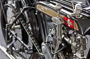 1923 Condor Motorcycle Print by Jill Reger