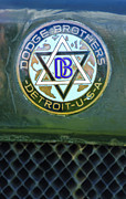 1923 Photos - 1923 Dodge Brothers Depot Hack Emblem by Jill Reger