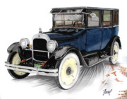 Ferrel Cordle - 1923 Durant A-22 Sedan