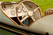 1924 Photos - 1924 Delage 2LCV Steering Wheel by Jill Reger
