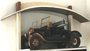 Photo Reliefs - 1924 Ford T Runabout hood folded by Alok Mital