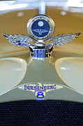 Car Mascot Metal Prints - 1926 Duesenberg Model A Boyce MotoMeter Metal Print by Jill Reger